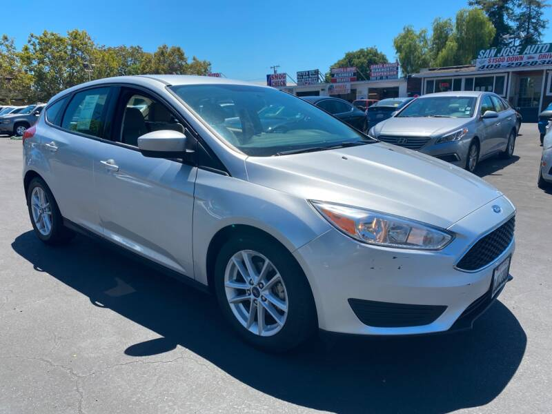 2018 Ford Focus for sale at San Jose Auto Outlet in San Jose CA