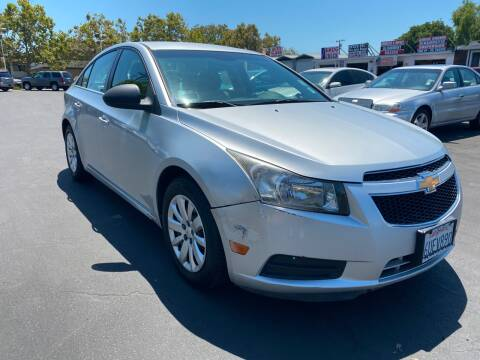 2012 Chevrolet Cruze for sale at San Jose Auto Outlet in San Jose CA