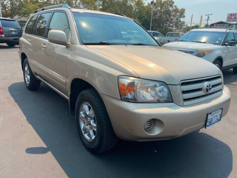2007 Toyota Highlander for sale at San Jose Auto Outlet in San Jose CA