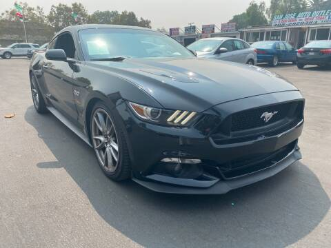 2016 Ford Mustang for sale at San Jose Auto Outlet in San Jose CA