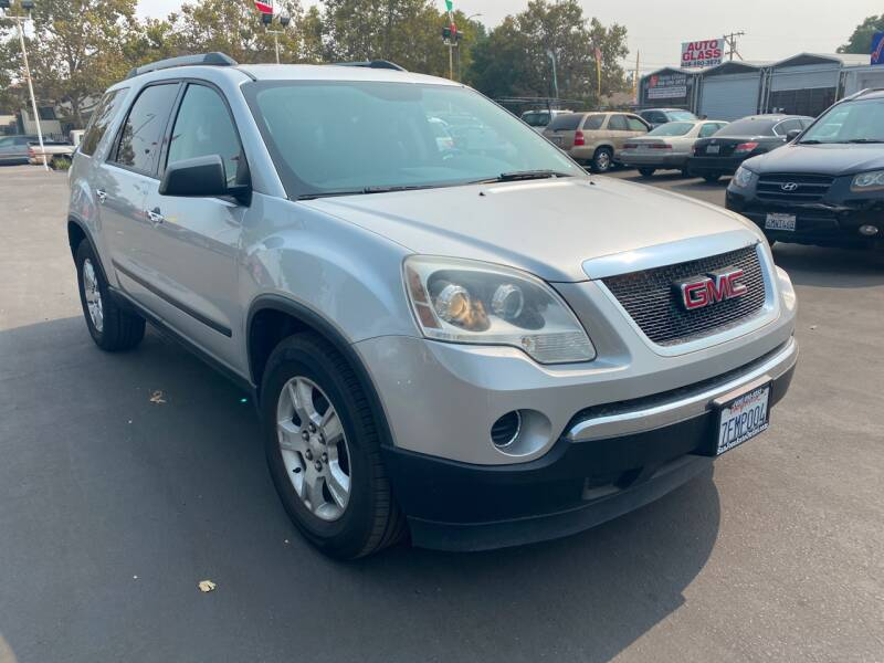 2010 GMC Acadia for sale at San Jose Auto Outlet in San Jose CA