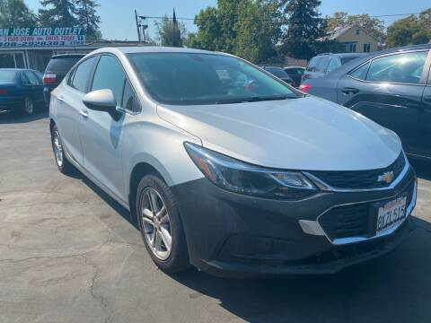 2017 Chevrolet Cruze for sale at San Jose Auto Outlet in San Jose CA