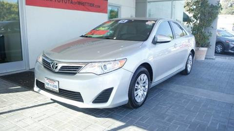 2014 Toyota Camry for sale in Whittier, CA