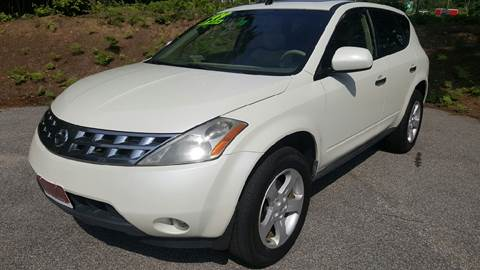 2005 Nissan Murano for sale in Pittsfield, NH