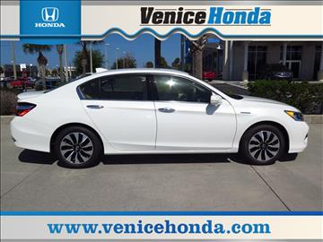 2017 Honda Accord Hybrid for sale in Venice, FL