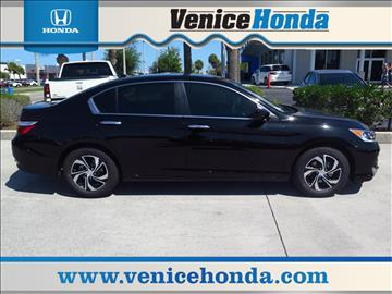 2017 Honda Accord for sale in Venice, FL