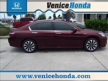 2017 Honda Accord Hybrid for sale in Venice, FL