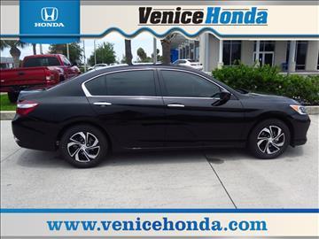 2017 Honda Accord for sale in Venice, FL