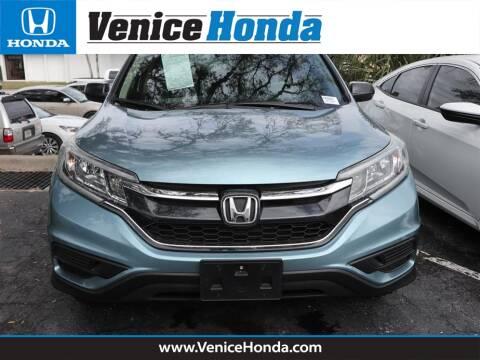 2015 Honda CR-V LX for sale at Venice Honda in Venice FL