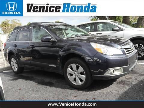 2012 Subaru Outback 2.5i Premium for sale at Venice Honda in Venice FL