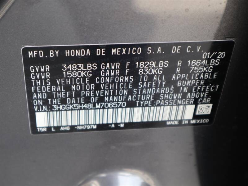2020 Honda Fit LX (image 12)