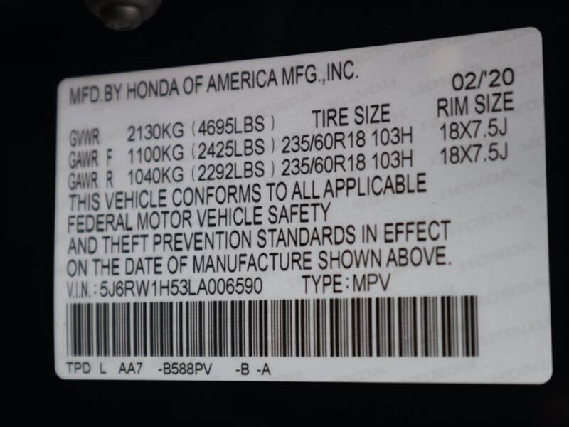 2020 Honda CR-V EX (image 12)