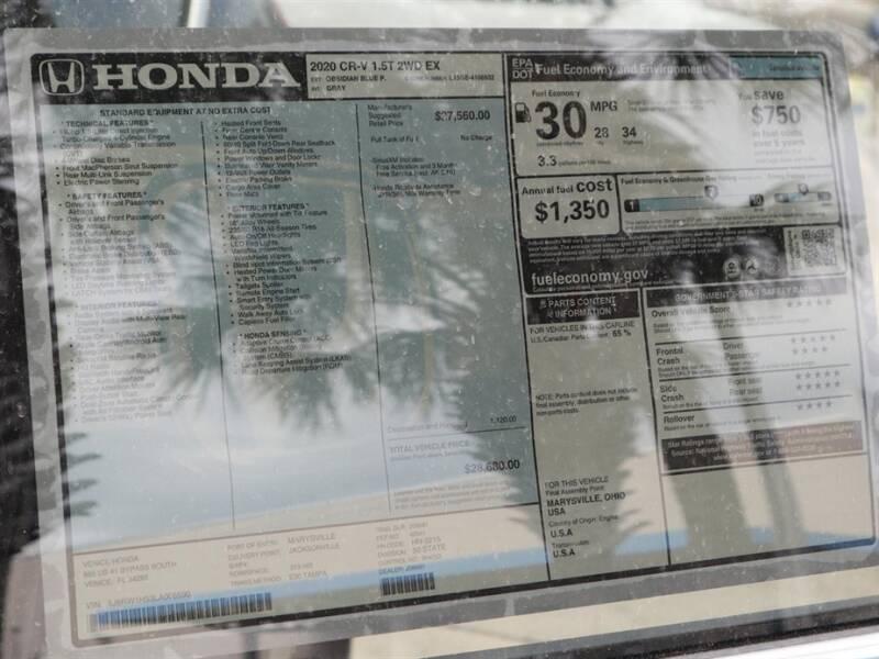 2020 Honda CR-V EX (image 11)