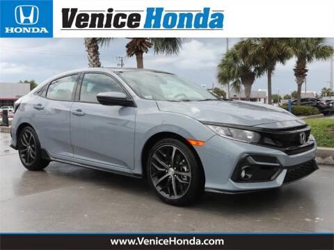 2020 Honda Civic Sport for sale at Venice Honda in Venice FL