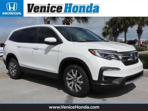 2020 Honda Pilot EX-L for sale at Venice Honda in Venice FL