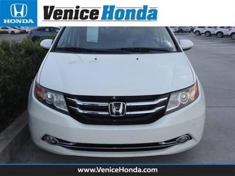 2015 Honda Odyssey for sale at Venice Honda in Venice FL