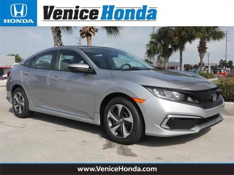 2020 Honda Civic LX for sale at Venice Honda in Venice FL