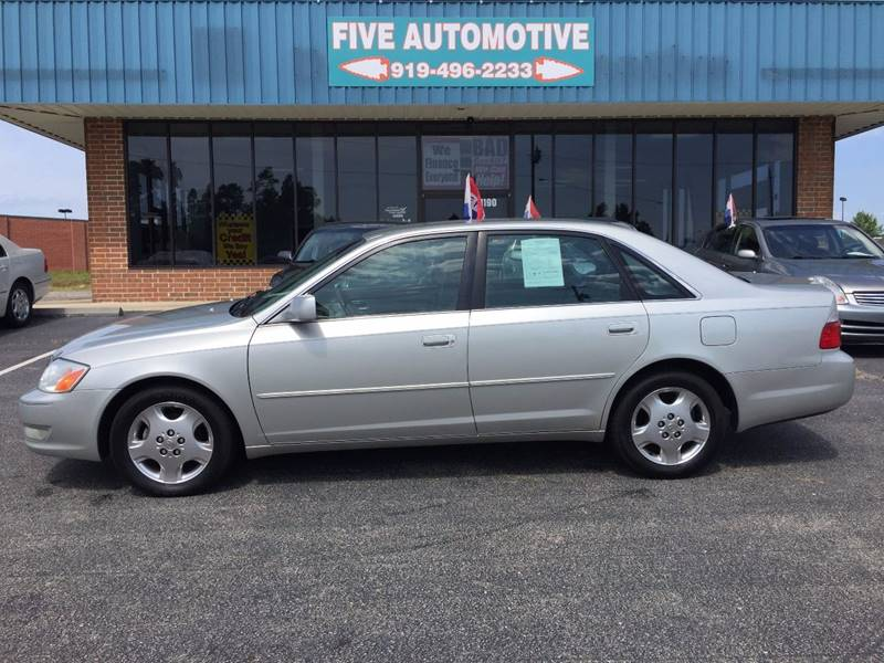Amazing 2003 Toyota Avalon XLS