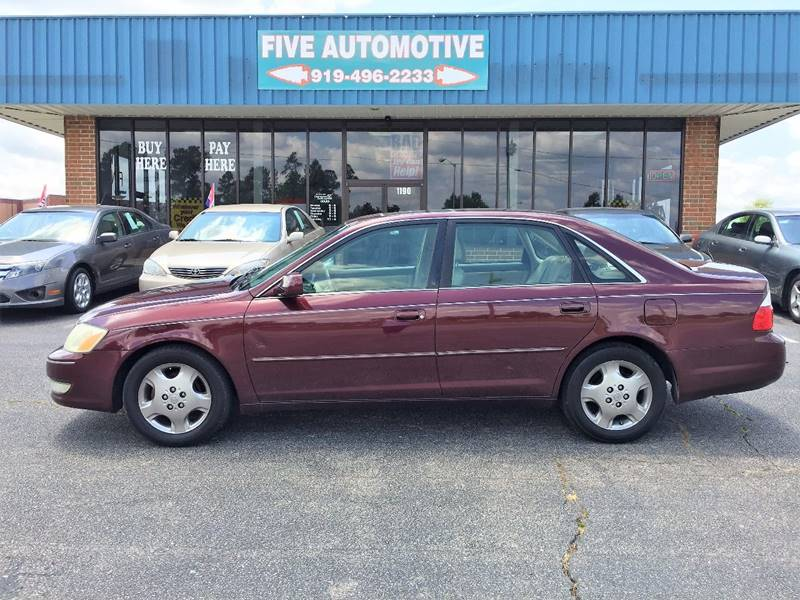 2003 Toyota Avalon For Sale At Five Automotive In Louisburg NC