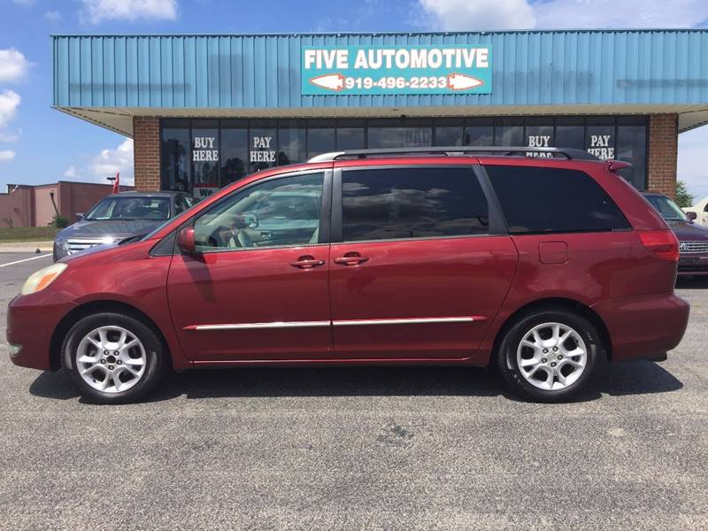 2004 Toyota Sienna For Sale At Five Automotive In Louisburg NC