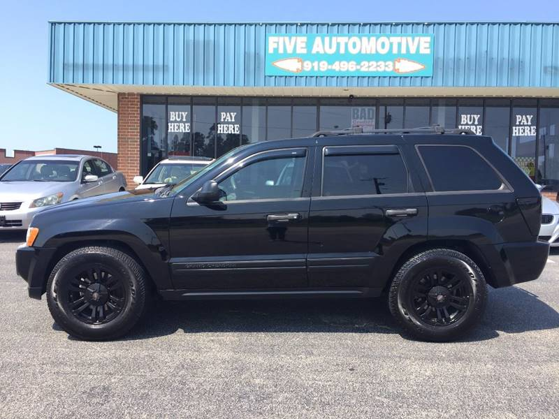Lovely 2006 Jeep Grand Cherokee For Sale At Five Automotive In Louisburg NC