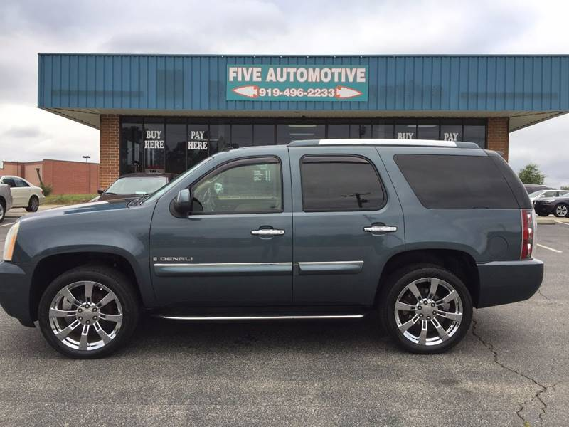 2007 GMC Yukon Denali In Louisburg, NC - Five Automotive