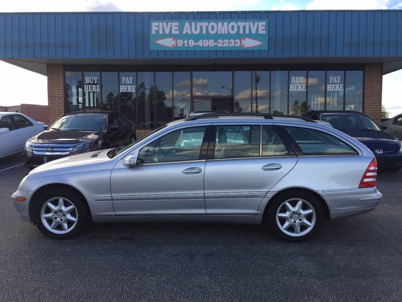 2002 Mercedes Benz C Class For Sale At Five Automotive In Louisburg NC