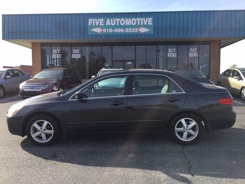 2005 Honda Accord For Sale At Five Automotive In Louisburg NC
