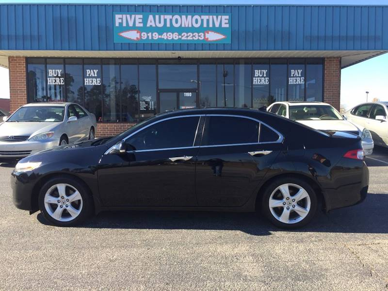 Acura TSX WTech In Louisburg NC Five Automotive - Acura tsx for sale in nc