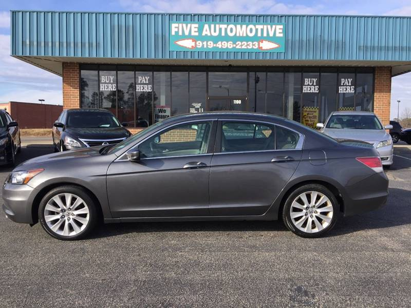 2012 Honda Accord For Sale At Five Automotive In Louisburg NC