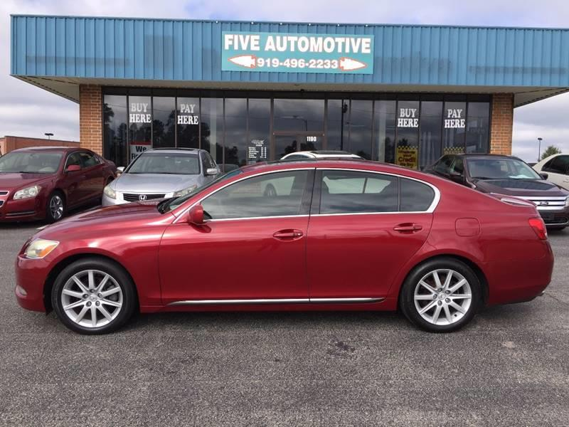 2006 Lexus GS 300 For Sale At Five Automotive In Louisburg NC