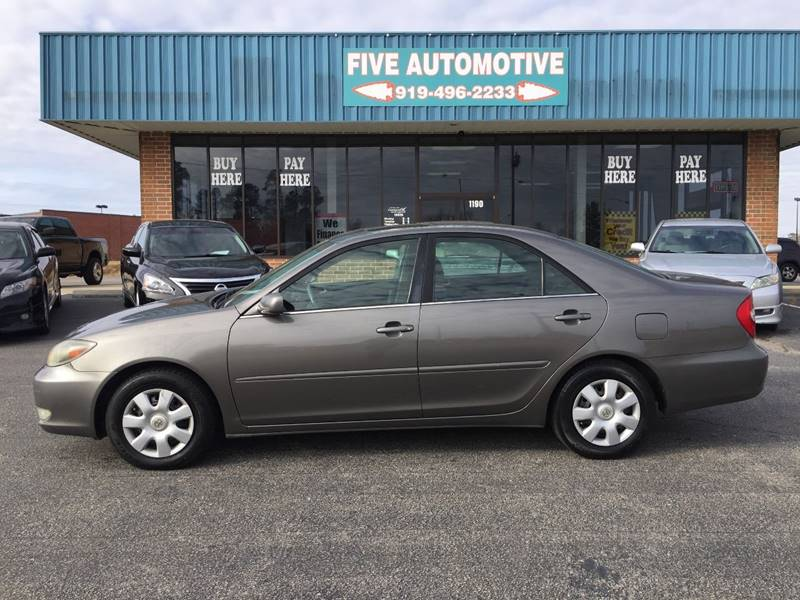 2004 Toyota Camry For Sale At Five Automotive In Louisburg NC