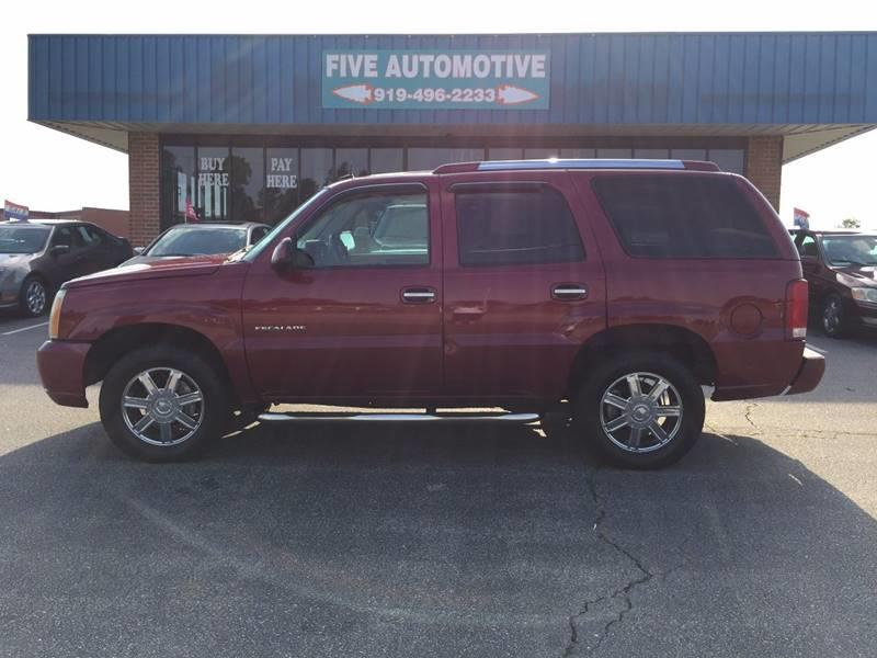 2004 cadillac escalade louisburg nc raleigh north carolina suvs vehicles for sale classified ads freeclassifieds com raleigh free classifieds