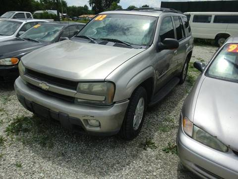 2002 Chevrolet TrailBlazer for sale at TJ Automotive in Osceola IA