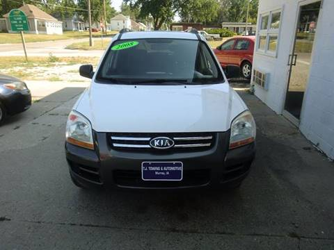 2008 Kia Sportage for sale at TJ Automotive in Osceola IA