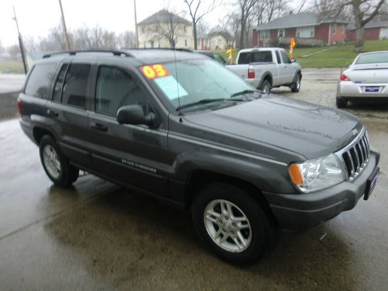2003 Jeep Grand Cherokee For Sale At T.J .TOWING AUTOMOTIVE 2 In Osceola IA