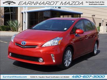 2013 Toyota Prius v for sale in Scottsdale, AZ