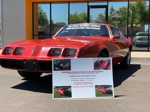 1980 Pontiac Firebird for sale in Phoenix, AZ