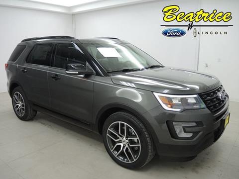 2017 Ford Explorer for sale in Beatrice, NE