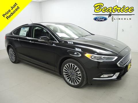 2017 Ford Fusion for sale in Beatrice, NE