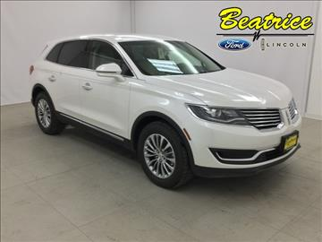 2017 Lincoln MKX for sale in Beatrice, NE