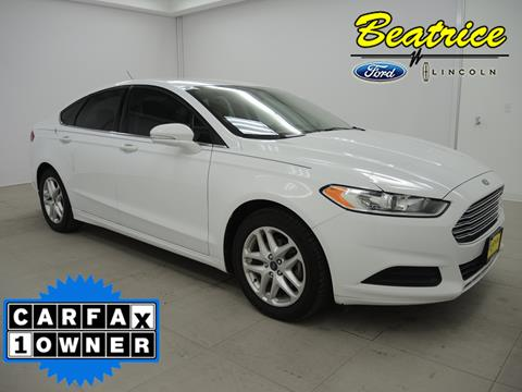 2014 Ford Fusion for sale in Beatrice, NE