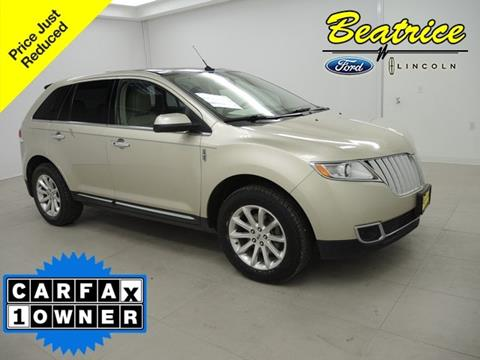 2011 Lincoln MKX for sale in Beatrice, NE