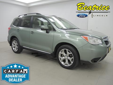 2015 Subaru Forester for sale in Beatrice, NE
