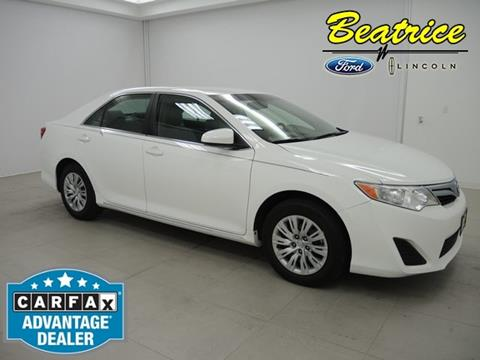 2013 Toyota Camry for sale in Beatrice, NE