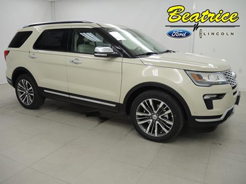 2018 Ford Explorer for sale in Beatrice, NE