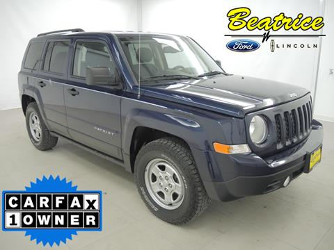 2013 Jeep Patriot for sale in Beatrice, NE