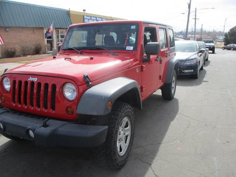 2012 Jeep Wrangler Unlimited for sale in Westminster, CO