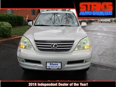 Stans Auto Sales >> 2005 Lexus Gx 470 For Sale In Westminster Co