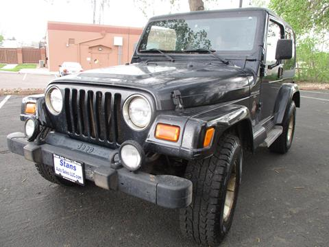 2001 Jeep Wrangler for sale in Westminster, CO